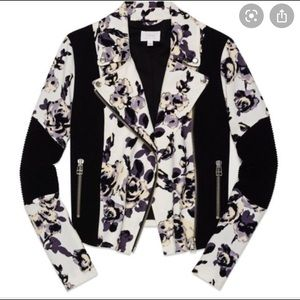 WILFRED FLORAL MOTTO JACKET